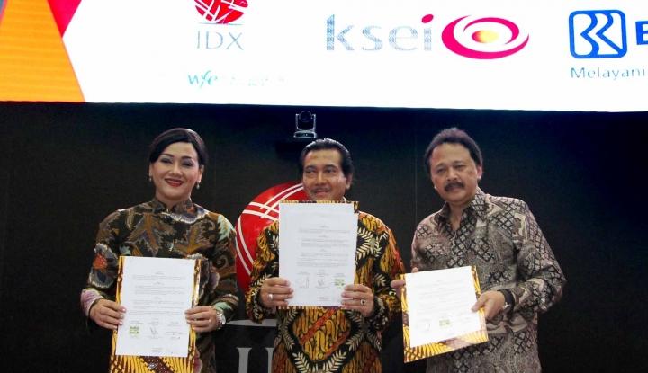 Foto Berita BRI Gandeng BEI dan KSEI Gelar Program Desa Nabung Saham