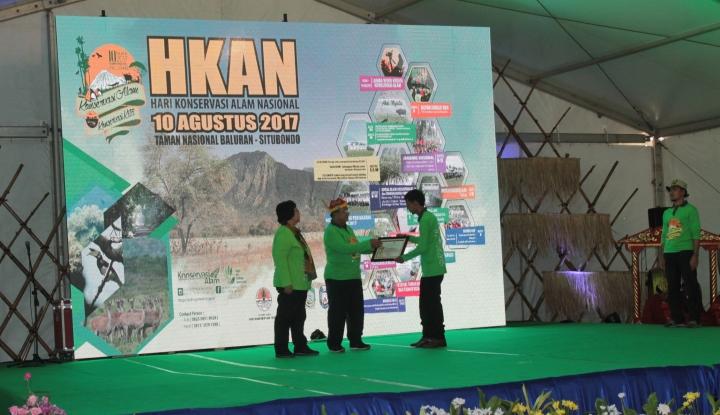 Foto Berita TWNC Raih Penghargaan dari KLHK