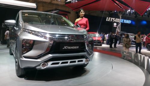 Foto Mitsubishi: Avanza Bukan Pesaing Berat XPander
