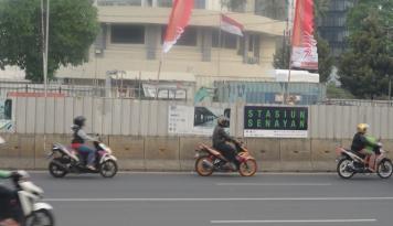 Foto Kata Menhub, Larangan Sepeda Motor di Jakarta Bertahap