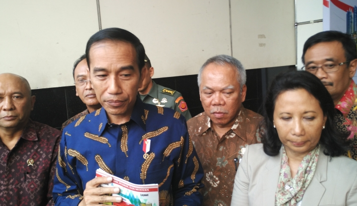 Foto Berita Ditantang Jokowi Selesaikan Tol 2019, Basuki: Saya Belum Bisa Jawab