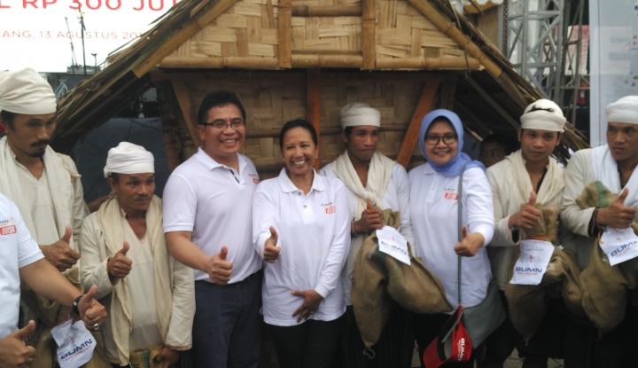 Foto Berita Telkom dan KS Salurkan Bantuan ke Masyarakat Banten