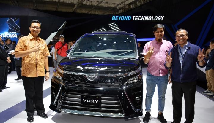 Foto Berita Baru Diluncurkan, Ini Arti Nama Toyota All New Voxy