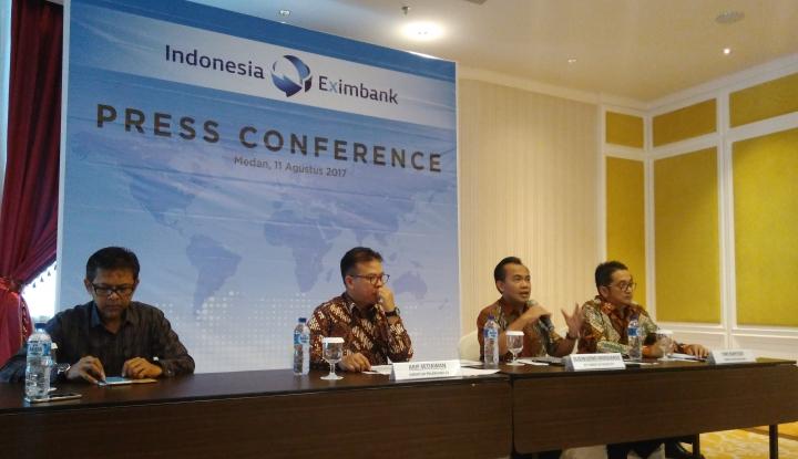Foto Berita Indonesia Eximbank Salurkan Pembiayaan Rp1,37 Triliun di Sumut