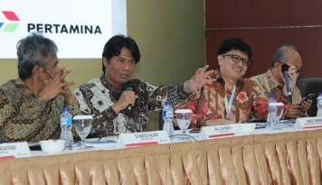 Foto Massa Manik Dinobatkan Jadi CEO BUMN Visioner