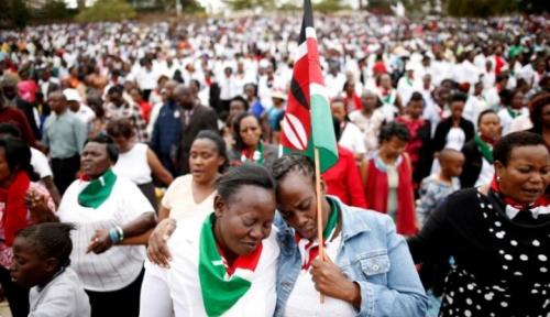Foto Otoritas Kenya Tunda Beri Hukuman ke Kelompok HAM, Ini Alasannya...