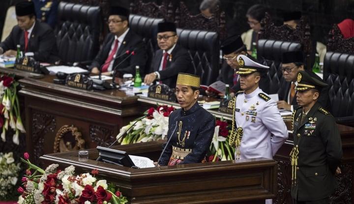 Tiba di Gedung Kura-Kura, Jokowi Akan Sampaikan 3 Kali Pidato Kenegaraan - Warta Ekonomi