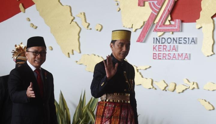Foto Berita Ketua MPR Dorong Jokowi Bikin TPGF Selesaikan Kasus Novel