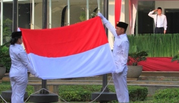 Foto KNPI: Pancasila Sudah Final, Jangan Ditawar Lagi!