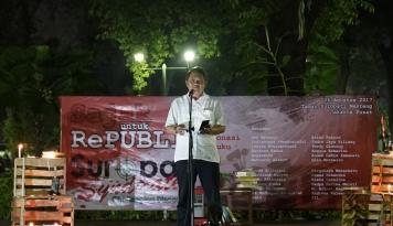 Foto Rudiantara Rayakan HUT RI Bersama Masyarakat Alor NTT