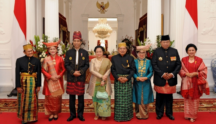 Foto Gaya Komunikasi Jokowi, Efektif Pertemukan Para Mantan