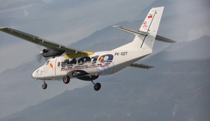 Foto Berita Pelita Air Operasikan Pesawat N219 di Dua Daerah
