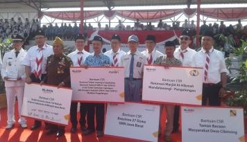 Foto HUT RI, Empat BUMN Kucurkan CSR untuk Kesejahteraan Masyarakat Jabar