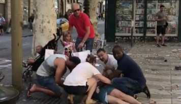Foto Tragis, 26 Warga Negara Prancis Terluka Akibat Teror di Barcelona