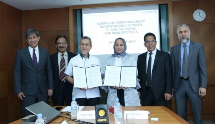BCAP MNC Sekuritas Sasar Pasar Modal Syariah Malaysia - Warta Ekonomi