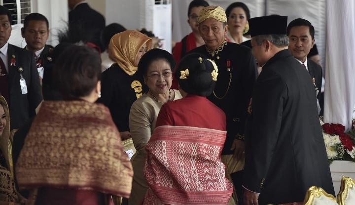 Sindir Megawati, Partai SBY, Tak Minta-Minta Jatah Menteri - Warta Ekonomi
