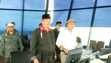 Foto Rayakan HUT RI, Pegawai AirNav Makassar Berpakaian ala Pejuang