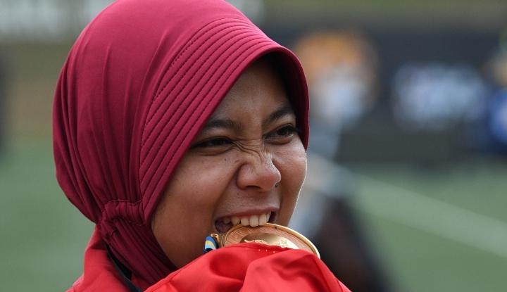 Wadidaw! Peraih Emas Sea Games Dapat Bonus Rp500 Juta dari Jokowi - Warta Ekonomi