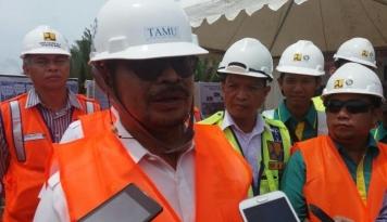 Foto Gubernur Sulsel Harap Proyek Tol Layang Makassar Dimulai Oktober