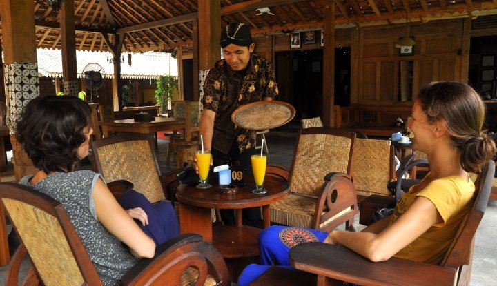 Foto Balkondes Tuksongo Magelang Kembangkan UMKM dan Seni Budaya Setempat