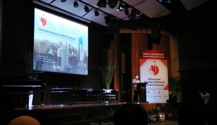 Foto OJK: Perlu Sinergi dalam Tingkatkan Literasi Keuangan
