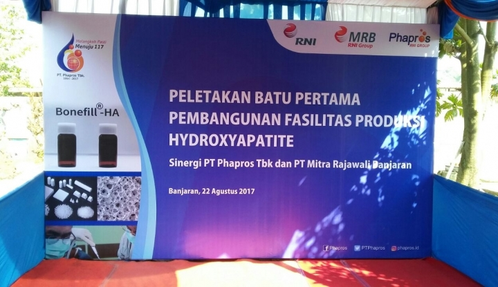 Foto Phapros Kembangkan Scaffold Hydroxyapetite untuk Dukung Kemandirian Alkes