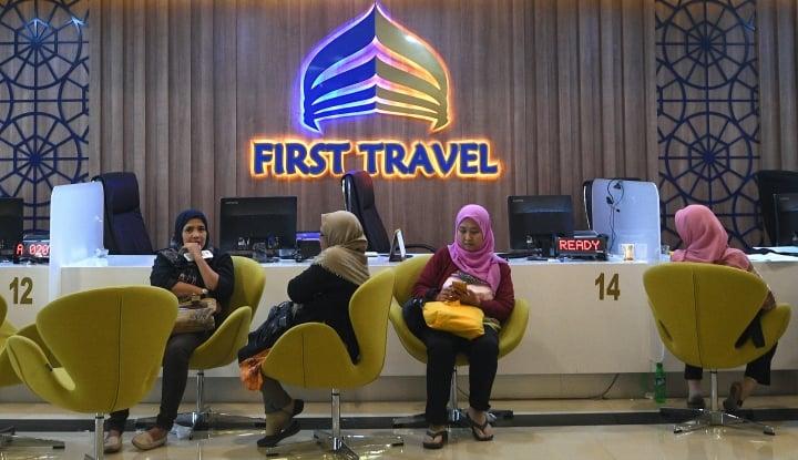 Foto Berita Polisi Serahkan Berkas Kasus Bos First Travel ke Kejaksaan