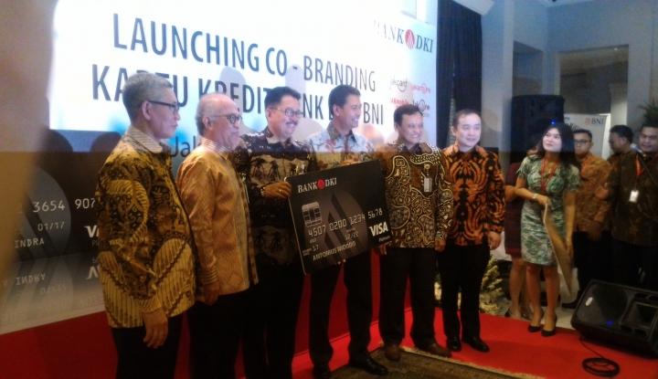 Foto BNI & Bank DKI Terbitkan Kartu Kredit Co-Branding