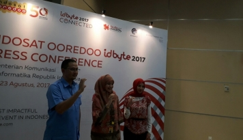 Foto Gelar Bubu Awards, Indosat Ooredoo IDByte 2017 Ajak Gen C