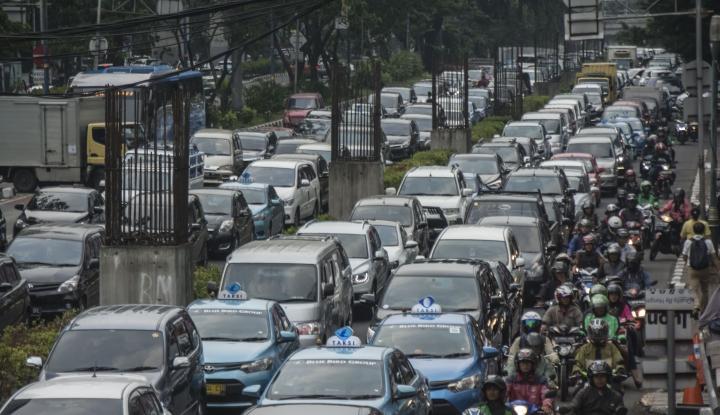 Foto Banjarmasin Rekayasa Lalu Lintas Hadapi Kemacetan