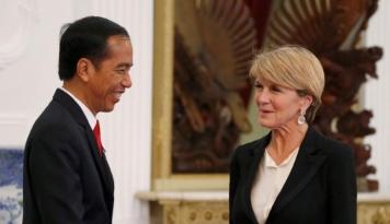Foto Julie Bishop Resmikan Konsulat Jenderal Australia di Surabaya