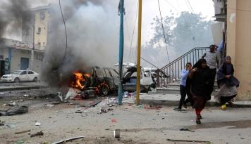 Foto Jumlah Korban Bom Somalia Bertambah Jadi 45 Orang