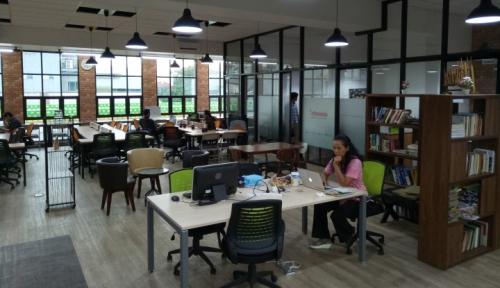 Foto Coworking Space Berkembang, Bisnis Sewa Kantor Turun 6,67%
