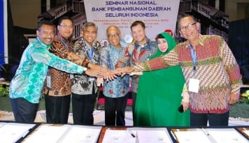 Foto Bank DKI Inisiasi Transaksi Non Tunai 7 BPD