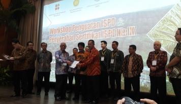 Foto 40 Perusahaan Sawit Raih Sertifikat ISPO