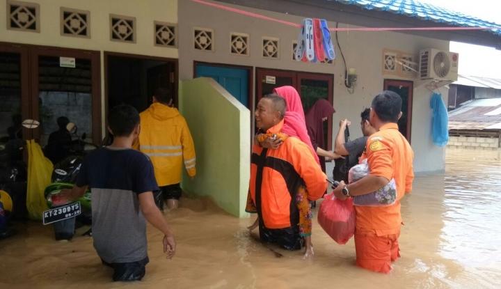Foto Berita Banjir Bandang di Tasikmalaya, 4 Orang Dinyatakan Tewas