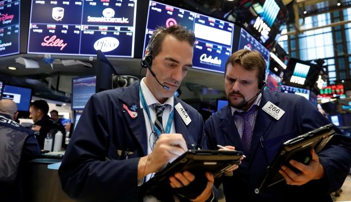 Foto Berita Bursa Saham Tiongkok Ditutup Beragam