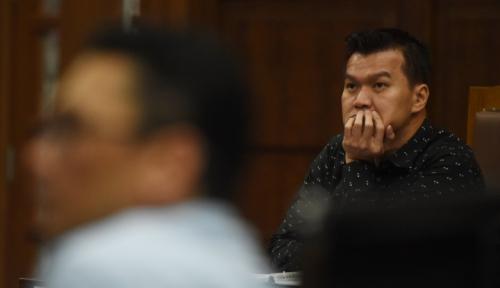 Foto Terdakwa Kasus E-KTP Lunasi Uang Pengganti, Jumlahnya 'Fantastis'