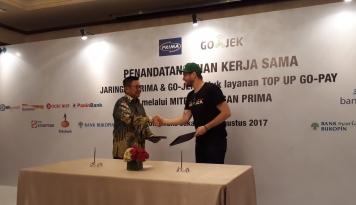 Foto Go-Jek Hadirkan Jaringan ATM Prima dalam Layanan Go-Pay