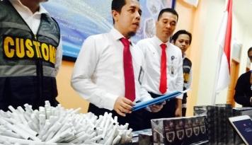 Foto Sulawesi Jadi Sasaran Peredaran Rokok Ilegal