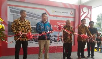 Foto Mitsubishi Buka Dealer ke-92 di Medan