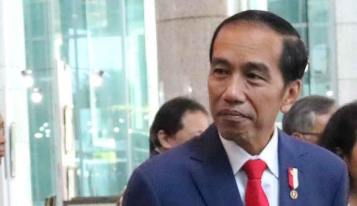 Foto Berita Dikerjain Jokowi, Paspampres Jadi Salah Kostum
