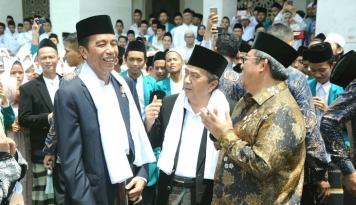 Foto Jokowi Janji Tuntaskan Infrastruktur Transportasi Sukabumi