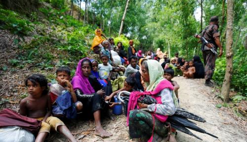 Foto Sumbar Harap Sumbangan Untuk Rohingya Tembus Rp1 Miliar