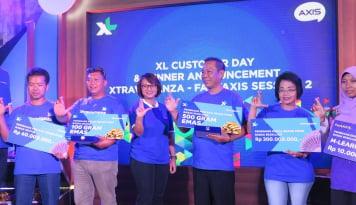 Foto Sambut Hari Pelanggan, XL Axiata Apresiasi Pengguna Setianya