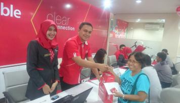 Foto September 2017, Pertumbuhan Telkomsel di Balikpapan Capai 55 Persen