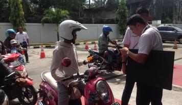 Foto Hari Pelanggan Nasional, Pertamina Balikpapan Terima Banyak Laporan