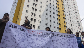 Foto Begini Penjelasan Pengembang Green Pramuka City Terkait Tuduhan Penghuni