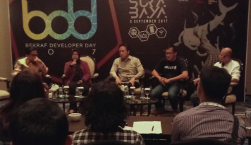 Foto 1500 Peserta Padati Bekraf Developer Day