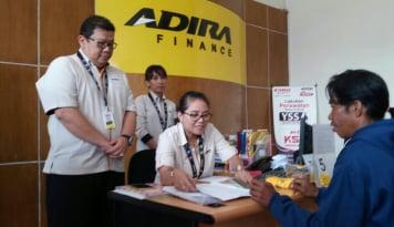 Foto Semester 1, Adira Finance Catat Laba Rp681 miliar